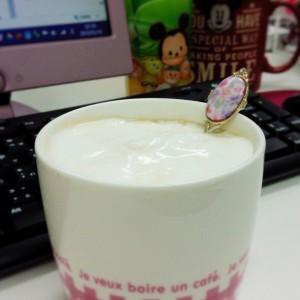 マシュマロクリームコーヒー